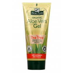 Puro gel di Aloe Vera con Tea Tree Oil