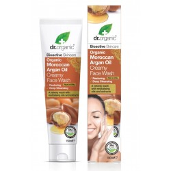 Organic Moroccan Argan Oil Creamy Face Wash